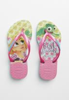 Havaianas - Kids slim tangled  flip flops - multi