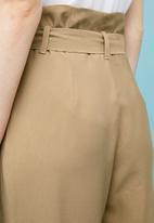 Superbalist - Premium paperbag trouser - neutral