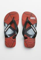 Havaianas - Kids top marvel - black & red