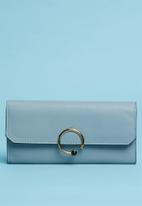 Superbalist - Mimi ring detail purse - blue