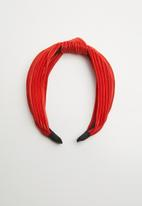 Superbalist - Lena knotted headband - red