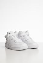 Nike - Nike Force 1 mid sneaker - white