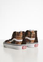 Vans - Uy sk8-hi reissue 138 v - brown & khaki