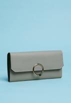 Superbalist - Mimi ring detail purse - grey
