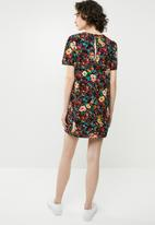 Forever21 - Floral T-shirt dress - multi