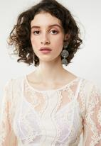 Forever21 - Lace pullover - cream