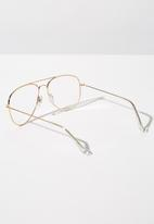 Cotton On - Arabella metal sunglasses - clear