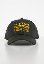 G-Star RAW - Baseball trucker cap - black