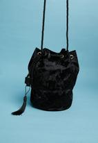 Superbalist - Blossom pouch bag - black