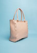 Superbalist - Stud detail handbag - pink
