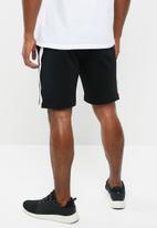 Brave Soul - Arezzo shorts - black & white