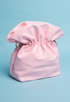 Superbalist - Vera patent chain bag - pink
