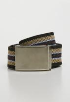 Superbalist - Canvas stripped belt - multi