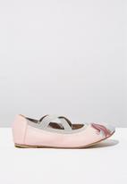 Cotton On - Kids primo - pink & grey