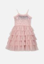 Cotton On - Iris tulle dress - pink