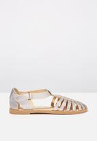 Cotton On - Liana sandal - silver