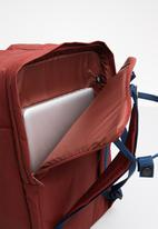 Fjallraven Kånken - Kanken 17inch bag - red & blue