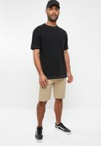 "Hurley - One and only strench chino 21"" short - khaki"