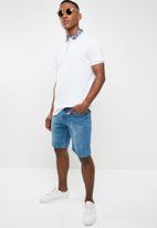 Brave Soul - Croston short sleeve tee - white