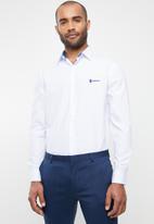 Pringle of Scotland - McNeill long sleeve styled shirt - white