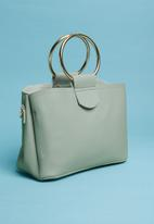 Superbalist - Double ring handle bag - green