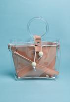 Superbalist - Ring detail bag - pink