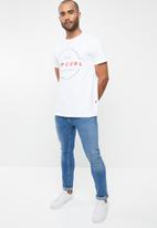 Rip Curl - Mission short sleeve tee - white