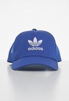 adidas Originals - Af trucker trefoil cap - blue