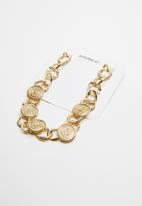 Superbalist - Vintage coin necklace - gold