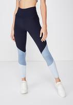 Cotton On - So soft marle 7/8 tight  - blue