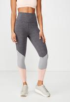 Cotton On - So soft marle 7/8 tight  - grey