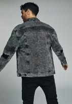 Cotton On - Moto rodeo jacket - grey