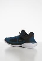 Nike - Flex 2019 - off noir/mtlc pewter-blue force