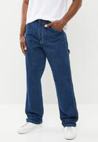 Lee  - Boss of the road relaxed fit carpenter jeans - blue