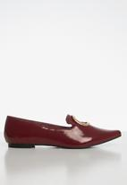 Superbalist - Donna patent pump - burgundy