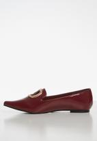 Superbalist - Donna patent pump - burgundy