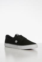 DC - Trase tx sneakers - black & white