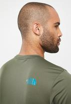 The North Face - Tanken tee - green & blue