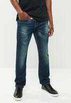 Lee  - Luke slim fit tapered jeans - blue