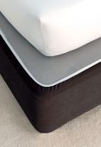 Linen House - Suedette bedwraps - black