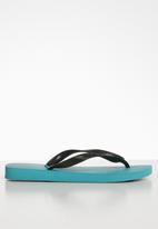 Havaianas - Top athletic flip flop - black & blue