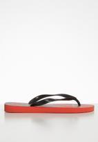 Havaianas - Top athletic flip flop - red