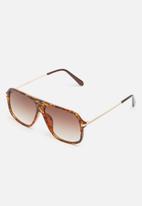 Superbalist - Naviator sunglasses - brown