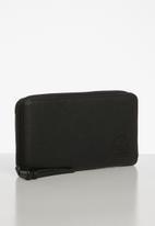 HERSCHEL - Thomas leather rfid - black
