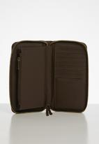 HERSCHEL - Thomas leather rfid - brown