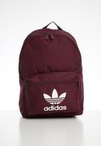 adidas Originals - Adicolour classic backpack - burgundy