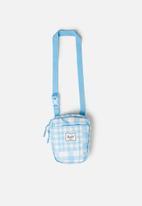 Herschel Supply Co. - Cruz flight bag - blue & white