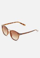 Superbalist - Vintage sound lens sunglasses - brown