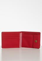 Herschel Supply Co. - Roy coin rfid wallet - navy & red