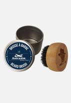 Hairgum - Barber beard brush in tin